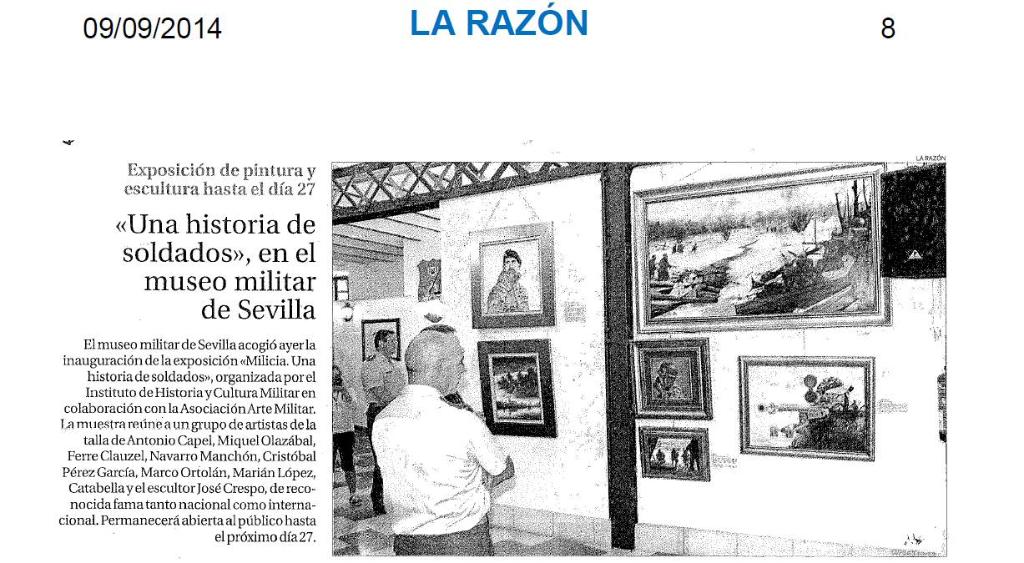 La Razon. Sevilla. 09.09.2014.