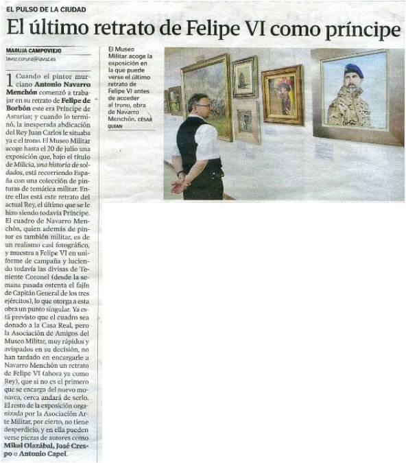 La Voz de Galicia. 19JUN14